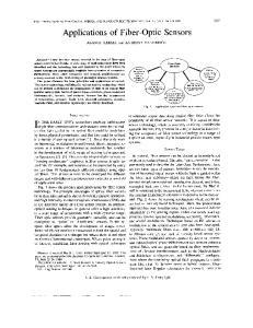 Applications of Fiber-Optic Sensors
