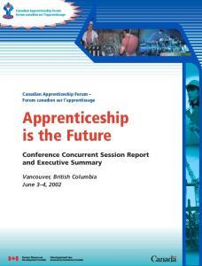 Apprenticeship is the Future