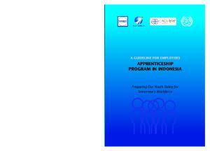 APPRENTICESHIP PROGRAM IN INDONESIA
