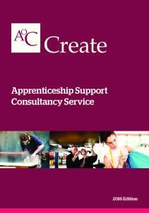 Apprenticeship Support Consultancy Service