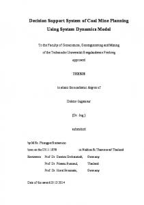 approved THESIS Doktor-Ingenieur (Dr.-Ing.) submitted