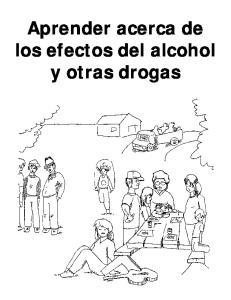 Aprender acerca de los efectos del alcohol y otras drogas