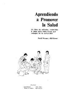 Aprendiendo a Promover la Salud