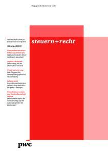 April 2013 Ist Deutschland dem Steuerwettbewerb