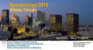 April 30 - May 1, 2015