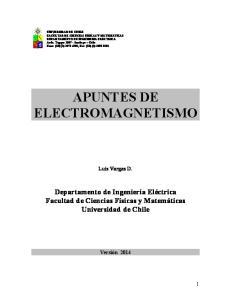 APUNTES DE ELECTROMAGNETISMO