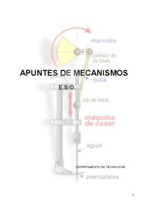 APUNTES DE MECANISMOS E.S.O