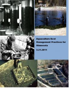 Aquaculture Best Management Practices for Minnesota