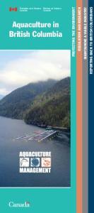 Aquaculture in British Columbia