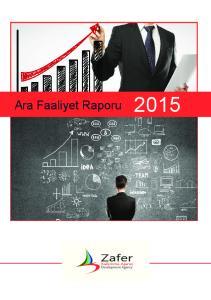 Ara Faaliyet Raporu 2015