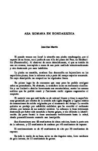 ARA ROMANA EN HONDARRIBIA