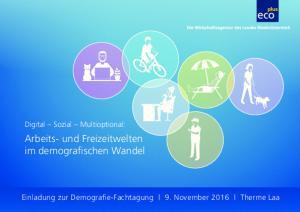 Arbeits- und Freizeitwelten im demografischen Wandel