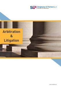 Arbitration & Litigation