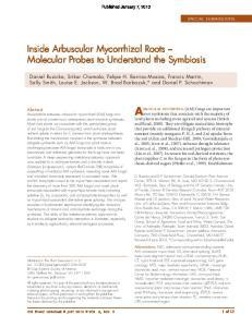 Arbuscular mycorrhizal (AM) fungi are important