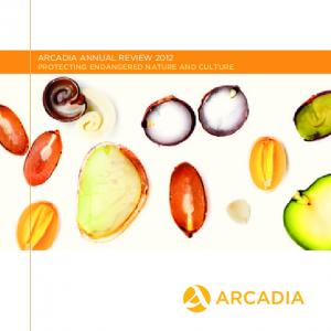 ARCADIA ANNUAL REVIEW 2012