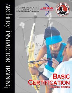 archery instructor training
