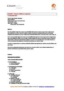ArchiCAD I + ArtLantis. El BIM para arquitectos