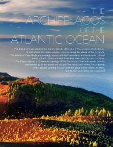 ARCHIPELAGOS ATLANTIC OCEAN THE OF THE