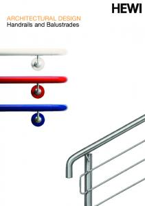 ARCHITECTURAL DESIGN Handrails and Balustrades