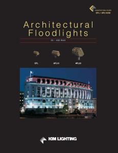 Architectural Floodlights Watt