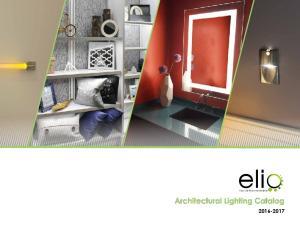 Architectural Lighting Catalog