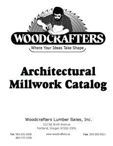 Architectural Millwork Catalog