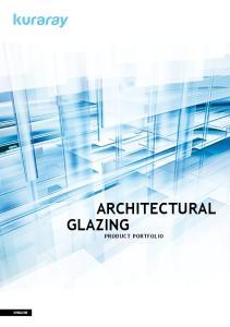 Architectural. product portfolio. english