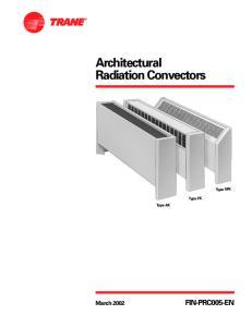 Architectural Radiation Convectors
