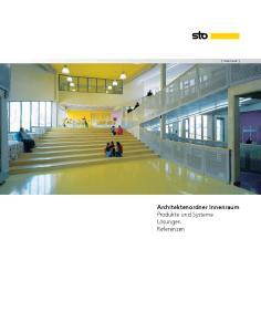 Architektenordner Innenraum Produkte und Systeme Lösungen Referenzen
