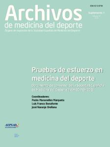 Archivos. de medicina del deporte. Órgano de expresión de la Sociedad Española de Medicina del Deporte
