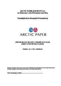 Arctic Paper Kostrzyn SA