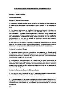 Ar=culo 14.- Contrato de Obra o Servicio determinado