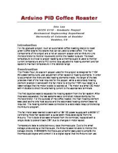 Arduino PID Coffee Roaster