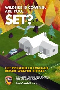 ARE YOU GET PREPARED TO EVACUATE. ReadyForWildfire.org
