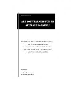 Are you yearning for an AyuWage Earning?