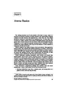 Arena Basics. Chapter 5