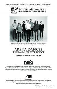 Arena dances the main street project