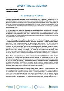 ARGENTINA HACIA EL MUNDO