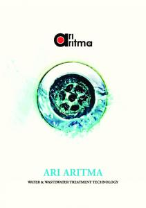 ARI ARITMA WATER & WASTEWATER TREATMENT TECHNOLOGY