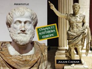 Aristotle. Julius Caesar