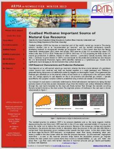 ARMA e-newsletter WINTER 2013