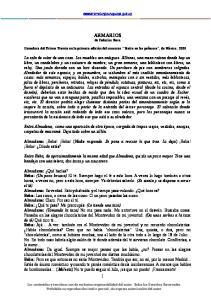 ARMARIOS de Federico Roca