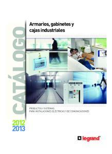 Armarios, gabinetes y cajas industriales