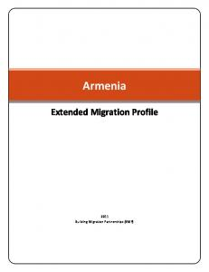 Armenia Extended Migration Profile