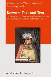 Armin Lange, Between Text and Text