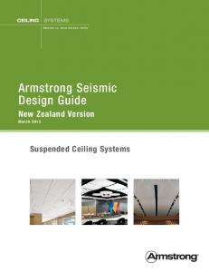 Armstrong Seismic Design Guide