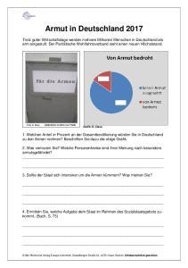 Armut in Deutschland 2017