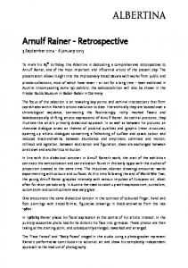 Arnulf Rainer - Retrospective