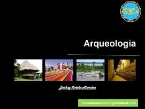 Arqueología. Bethsy Sotelo Morales