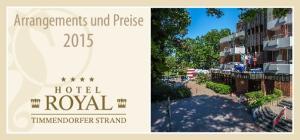 Arrangements und Preise 2015